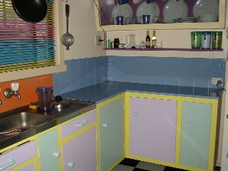 My colourful kitchen